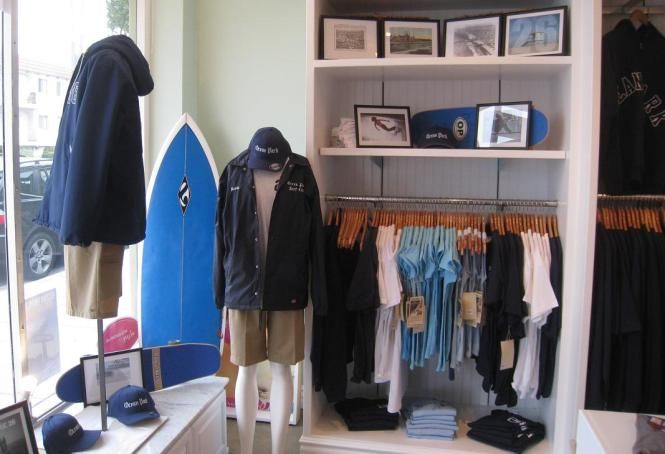 The Ocean Park pop-up shop at Double Shaka.